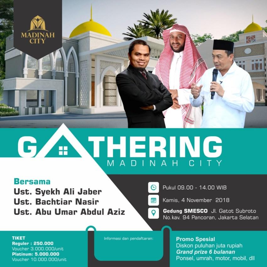 Gathering Akbar Madinah City Bekasi, 4 November 2018