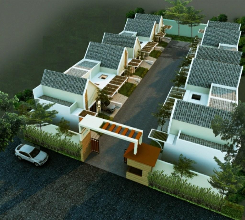 Site plan Perumahan Griya Pesona Pondok Cabe View