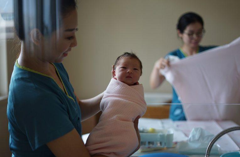 Kiinan syntyvyys laskussa