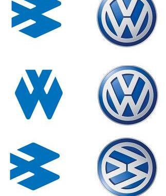 lho logo bajaj auto kok mirip sama logo volkswagen vw
