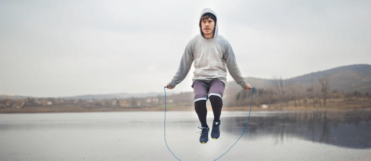 olahraga, kebugaran, sehat, latihan, skipping