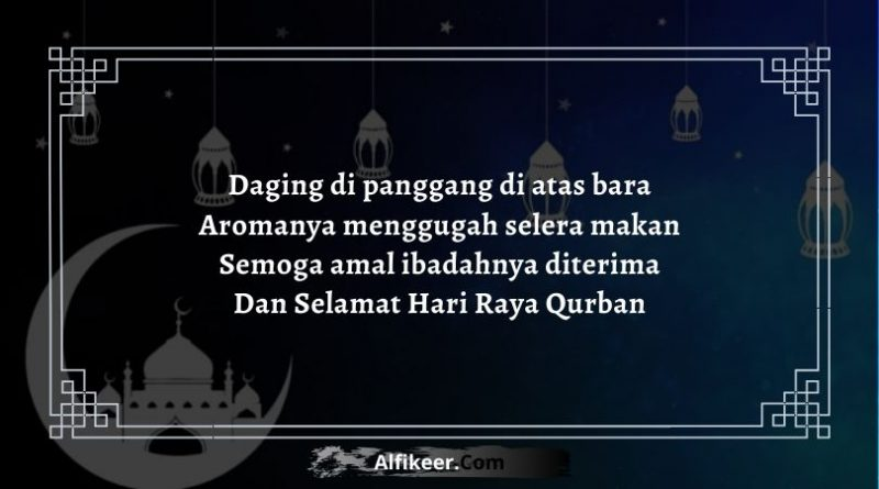 Pantun Lebaran Idul Adha