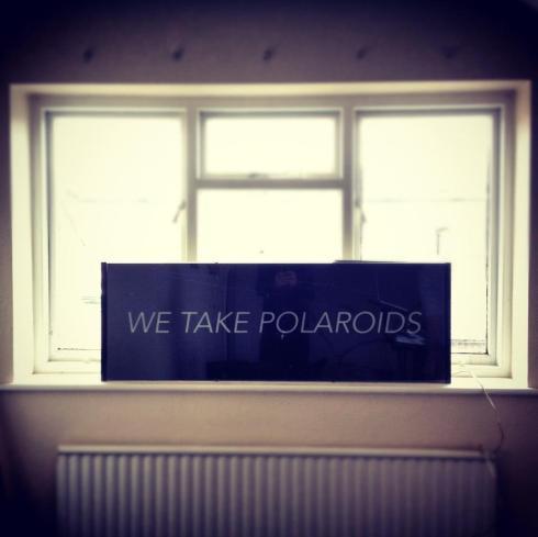 we take polaroids