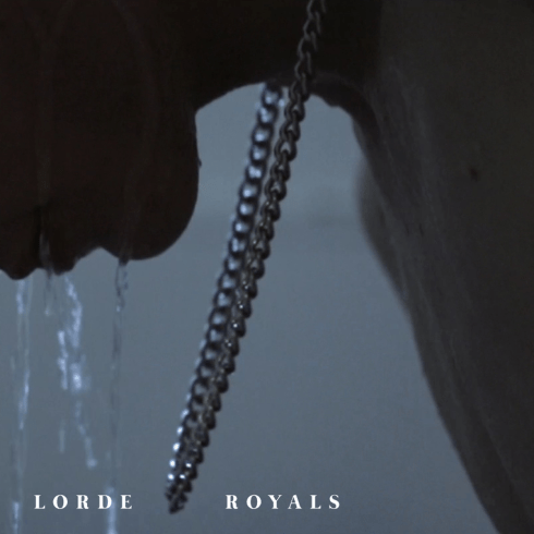 lorde royals single cover