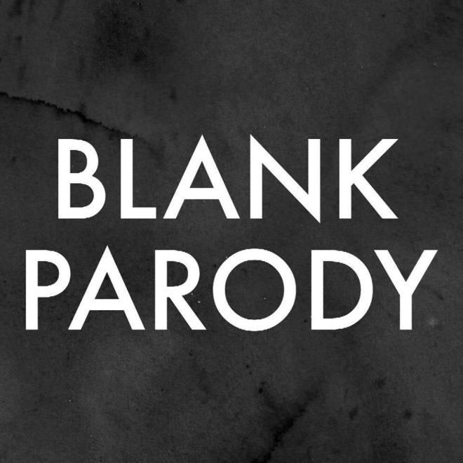 blank parody