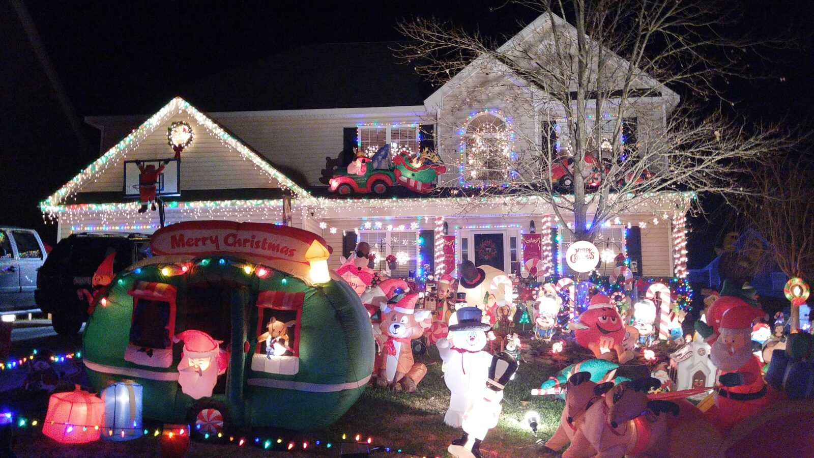 🎄Christmas Light displays and shows in the Lake Norman area ...