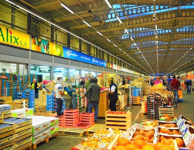 MIN Rungis Pavillon fruits et légumes