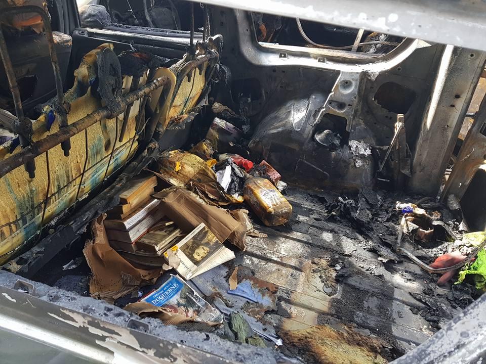 Incendie sur véhicules à Alfortville