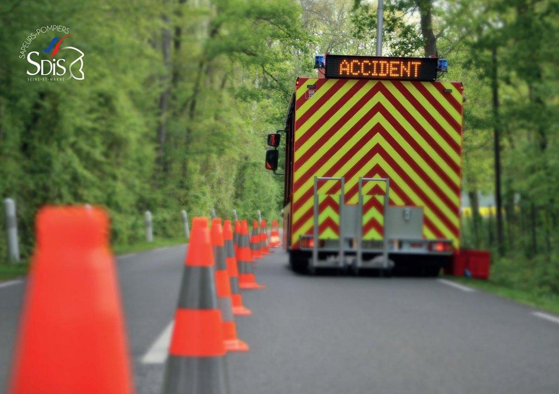 Accident car ville Alfortville Aurotoute A4