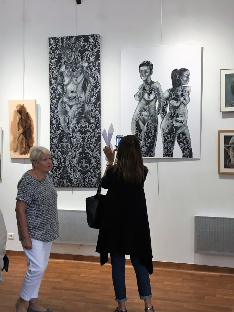 Alfortville exposition tableaux des artistes de l'association 4 A