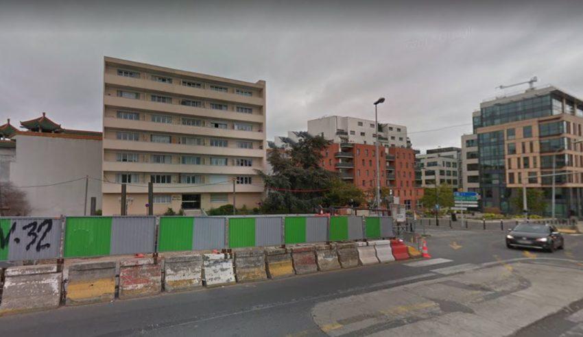 Alfortville un suspect interpellé pour le meurtre d'une femme aux abords du Chinagora Capture écran Google street view