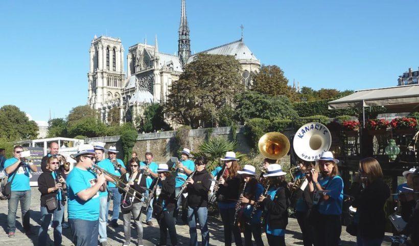 Bandas Marchés Flottants Paris 2018