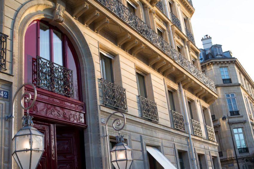 Hôtel et Spa La Réserve Paris Samedi poésie