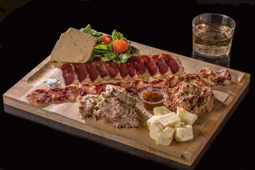 Planche Canard Street Charcuterie et fromage