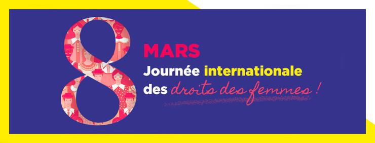 8 mars Journée Internationale des Droits de la Femme