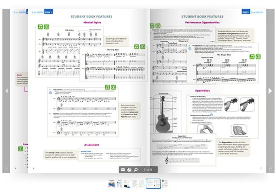 SI Guitar Brochure