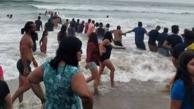 Photo of Hacen cadena humana y evitan tragedia en el mar