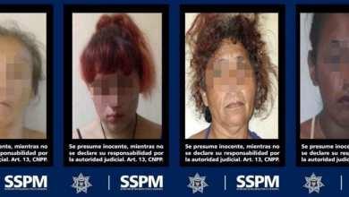 Photo of Asegura a cuatro mujeres narcomenudistas