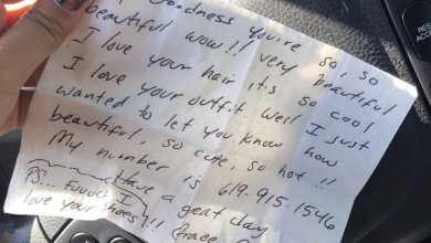 Photo of Desata miedo acosador con mensajes escritos en San Diego