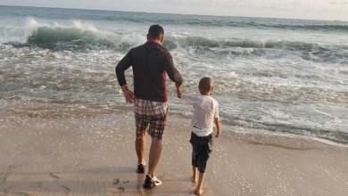 Photo of Jonathan conoció el mar y ya descansa en paz