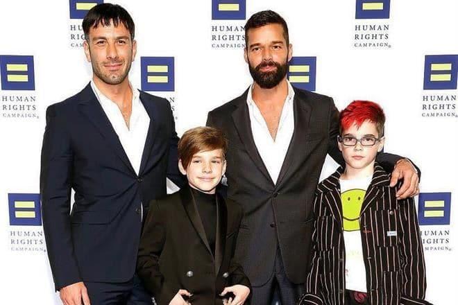 Photo of Nace cuarto hijo de Ricky Martin y su esposo