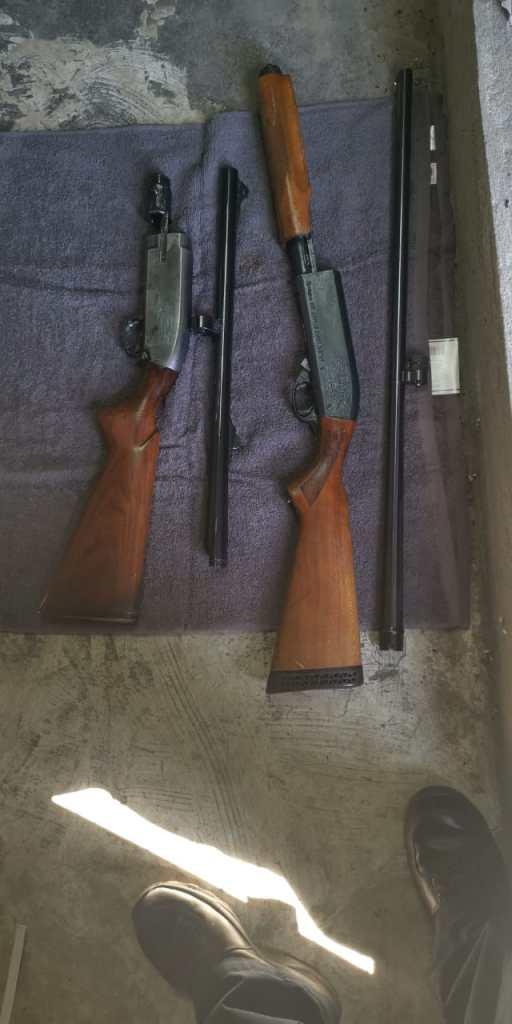 Armas decomisadas por Aduana Tijuana