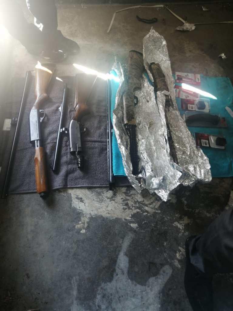 Armas decomisadas por Aduana de Tijuana