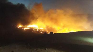 Photo of Evacúan viviendas en Rosarito por incendios