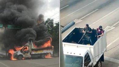 Photo of Este es el arsenal asegurado tras balaceras en Culiacán