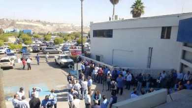 Photo of Empleados de CESPT exigen aumento de sueldo en una manifestación