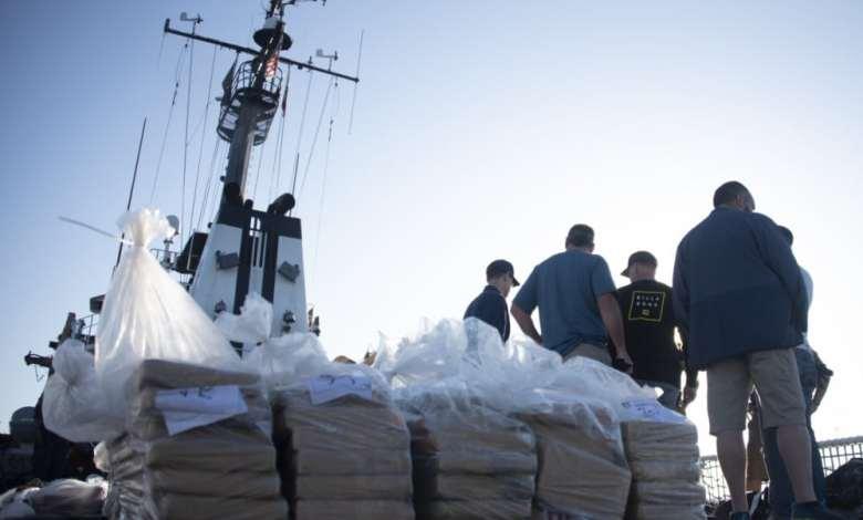 Guardia Costera incautó millones en droga