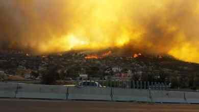 Photo of Histórica la devastación por los incendios en Baja California