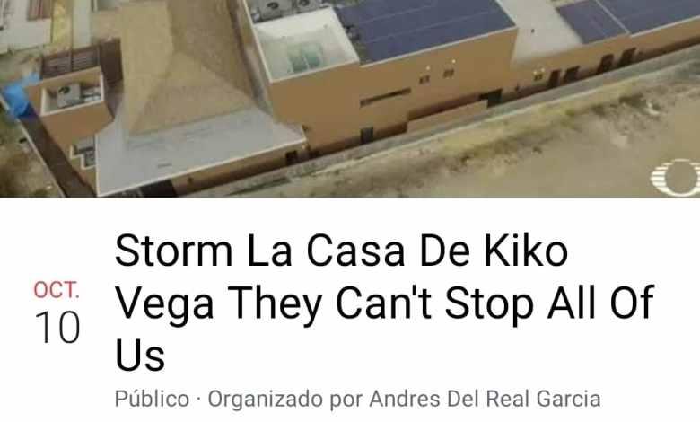Photo of Organizan megaprotesta en casa de Kiko Vega