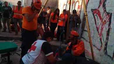 Photo of Quería ganar en paintball; cayó 3 metros y hubo que rescatarlo