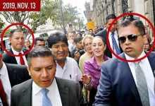 Photo of Ex guaruras de EPN cuidan a Evo Morales