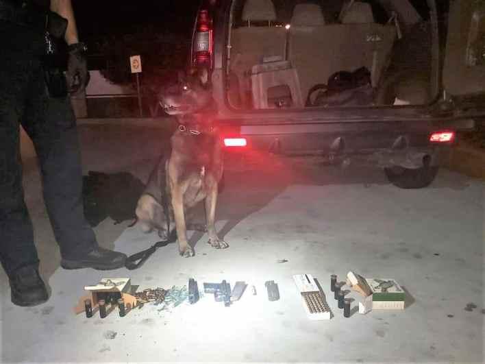 Aduana de Tijuana detecta armas y droga