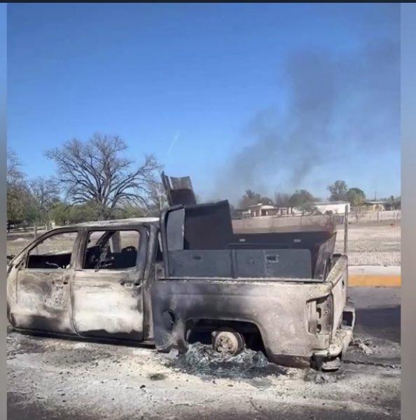 camioneta balaeada enfrentamiento villa union