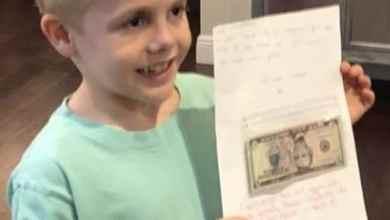 Photo of Niño 'aumenta' el sueldo de su maestra con su regalo de cumple