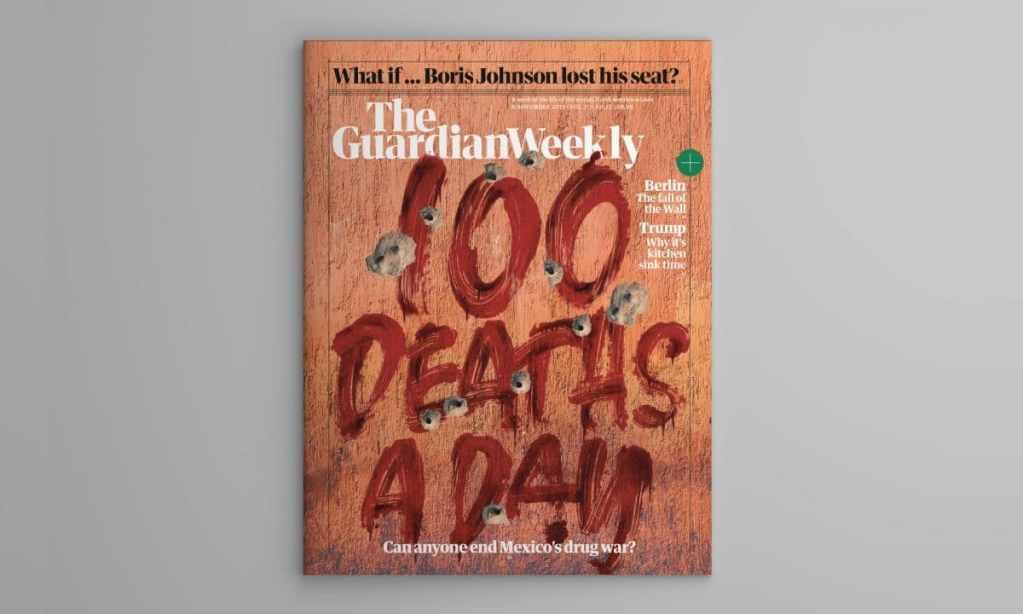 La muerte devora a México, en portada de San Diego Union-Tribune