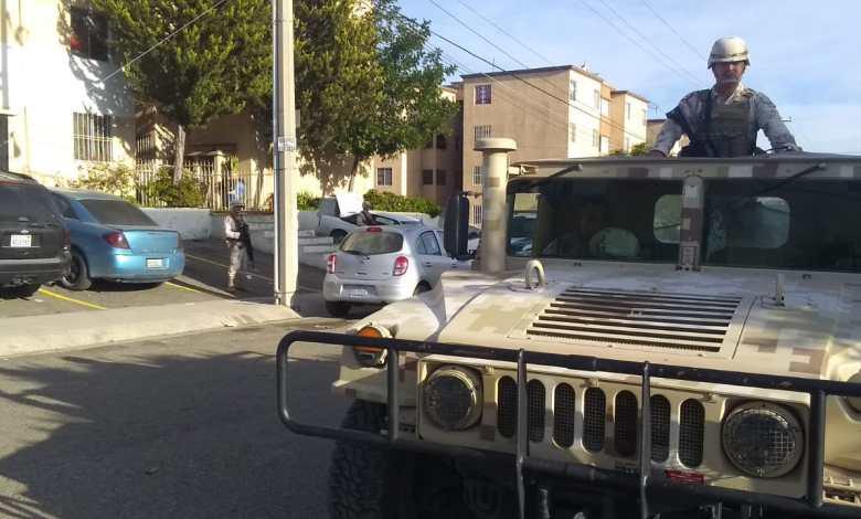 Photo of Ejército y Policía resguardan domicilio