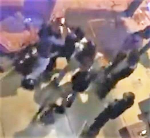 Tremenda pelea en antro de Tijuana