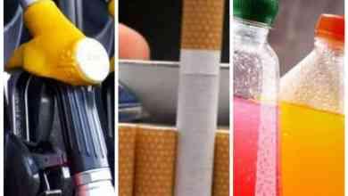 Sube costo de gasolina, cigarros y bebidas saborizadas en 2020