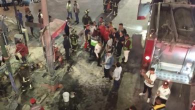 Photo of Explota puesto de tacos en terminal del metro