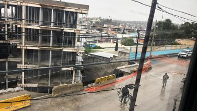 Photo of Edificio a punto de caer por deslave en Tijuana