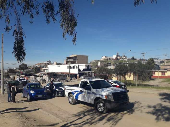 ataque a Policías en Tijuana