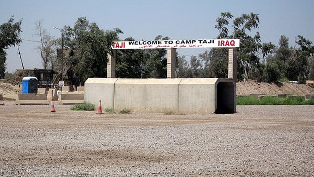 Otro misil impacta una base iraquí que alberga fuerzas de EU