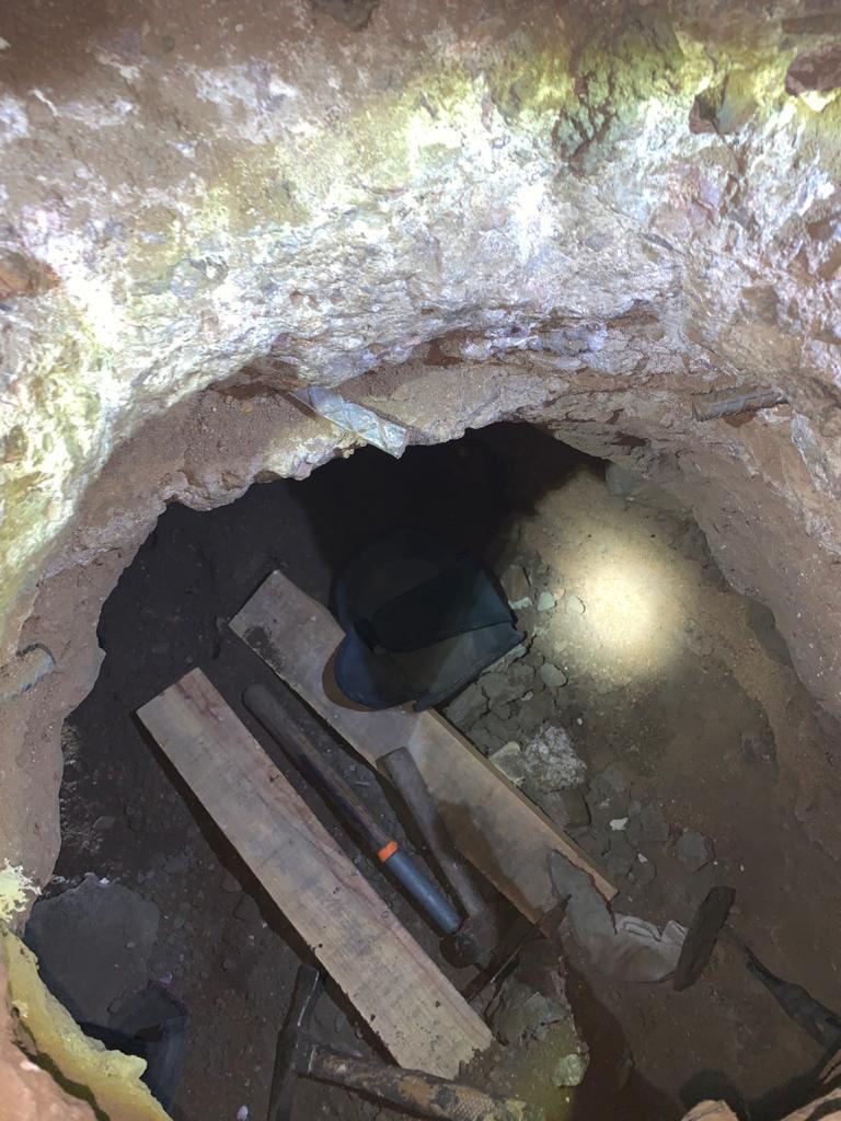 Localizan narco túnel en Sonora con dirección a EU