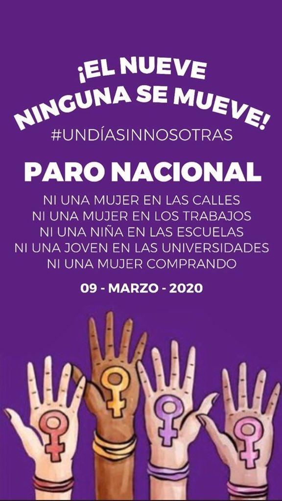 Convocan a 'Un día sin mujeres' en México durante marzo