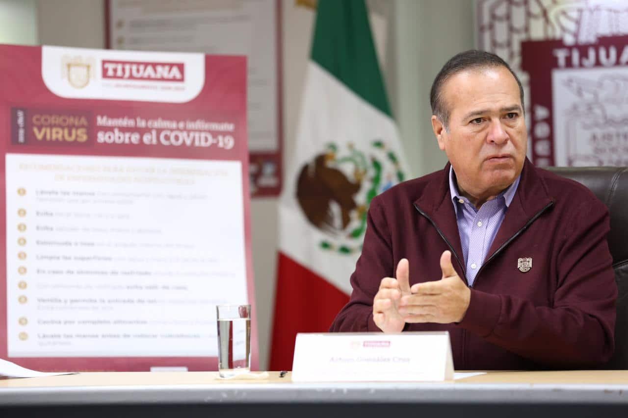 Emiten prohibiciones en Tijuana por coronavirus