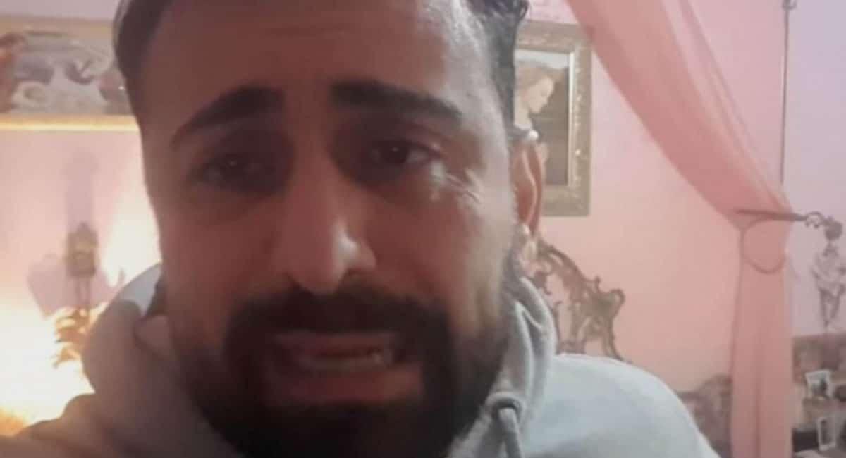 Italiano queda atrapado con cadáver de su hermana; graba conmovedor video